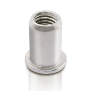 threaded insert / aluminum / round / custom