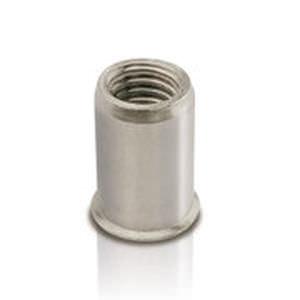 blind rivet nut / stainless steel / countersunk head / threaded