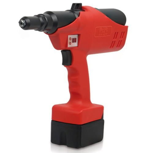 battery-powered riveter / for blind rivets / for structural rivets / with ejection system