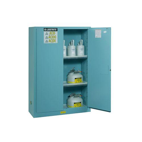 storage cabinet / floor-mounted / double-door / shelf