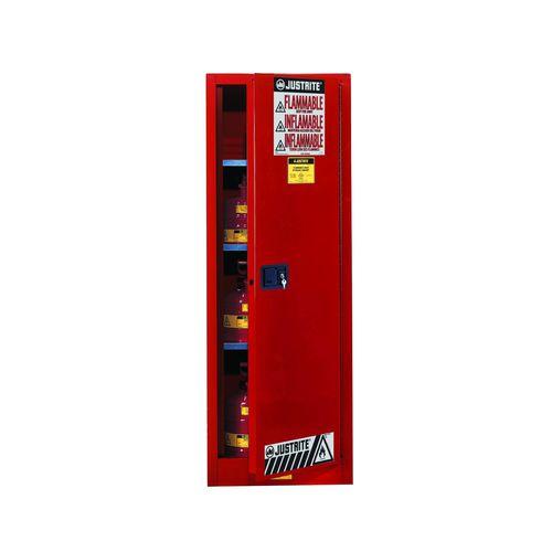 storage cabinet / floor-mounted / single-door / steel