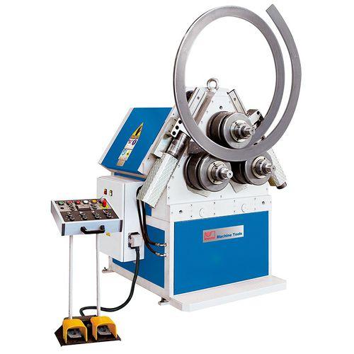 hydraulic bending machine / profile / 3 drive rollers / horizontal