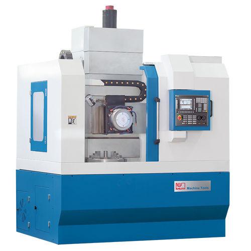 CNC lathe / vertical / 2-axis / rigid