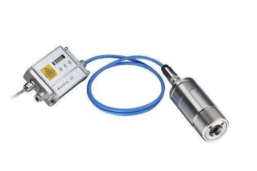 digital pyrometer / stationary / compact / surface-mount