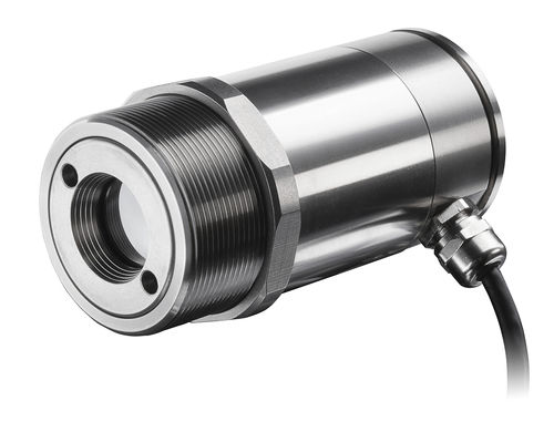 non-contact temperature sensor / infrared / threaded / stainless steel