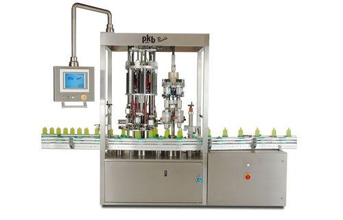 Perfume bottle crimping machine / automatic PRESTO PKB