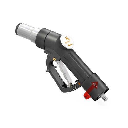 Hydrogen fueling nozzle / for cars TK17 H₂ 70 MPa WEH GmbH
