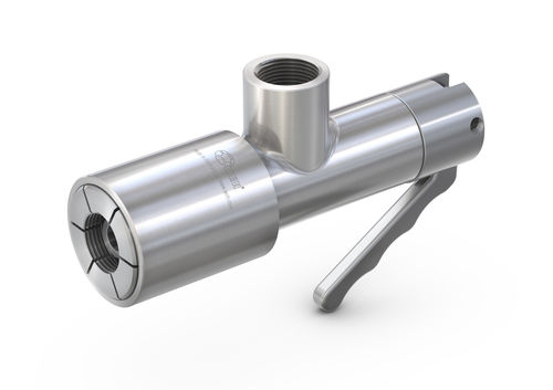 Push-to-lock fitting / straight / pneumatic / stainless steel WEH® TW18H  WEH GmbH