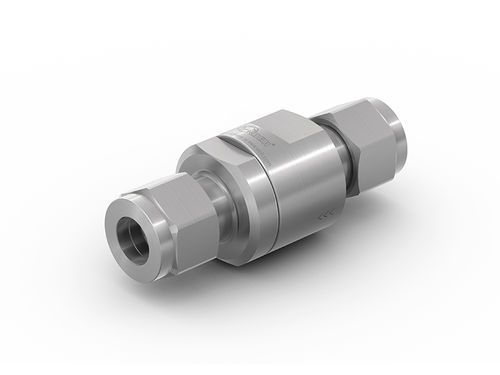 Fueling station check valve / for hydrogen / stainless steel TVR1 H2 WEH GmbH