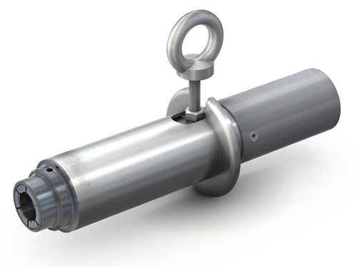 Quick coupling / straight / pneumatic / stainless steel WEH® TW59 WEH GmbH