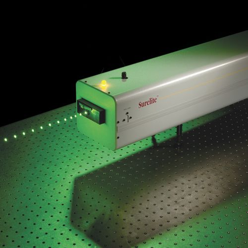 Pulsed laser / solid-state / infrared / green Surelite™ Series Continuum