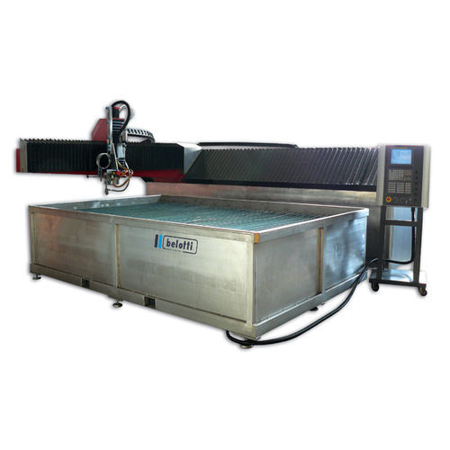 water-jet cutting machine / for metal / for glass / for marble