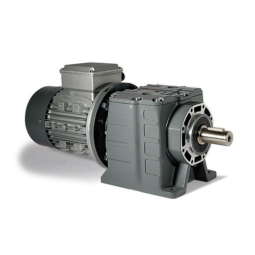 AC electric gearmotor / coaxial / helical / solid-shaft RD series VARVEL