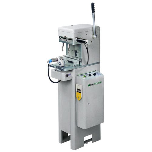 double-spindle drilling machine / double-head / electro-pneumatic