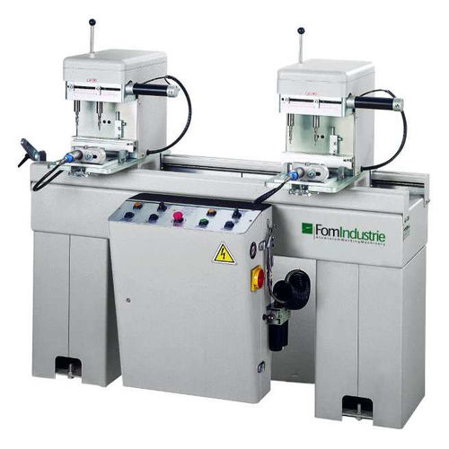 double-head drilling machine / electro-pneumatic