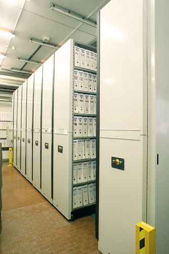 Mobile shelving / archival / compact COMPATTA ICAM srl