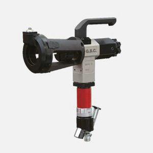 electric chamfering machine / pneumatic / portable / pipe