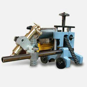 metal cutting machine / flame / for tubes / CNC