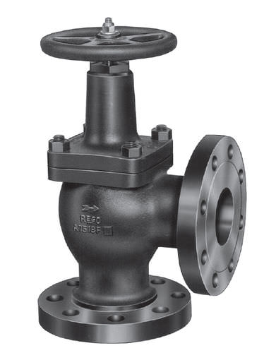 Globe valve / with handwheel / regulating / corner Rego Europe