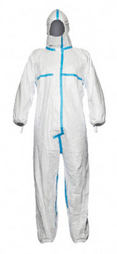 Chemical protection coveralls / anti-static / polyethylene / medical Tyvek® Classic Plus series DuPont Personal Protection