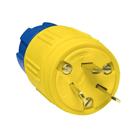 Straight power plug / low-voltage / male 125 - 250 V, 10 - 15 A  Ericson