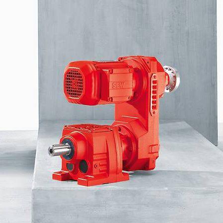 orthogonal servo-gearmotor / helical / bevel / worm