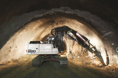 crawler excavator / Tier 3 / for tunnels