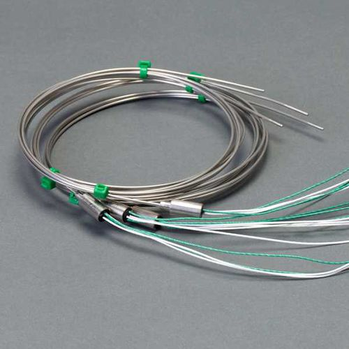 thermocouple / insertion / stainless steel / mineral-insulated