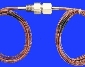 high-density thermocouple wire feedthrough / multiple-element / waterproof / for high-pressure applications