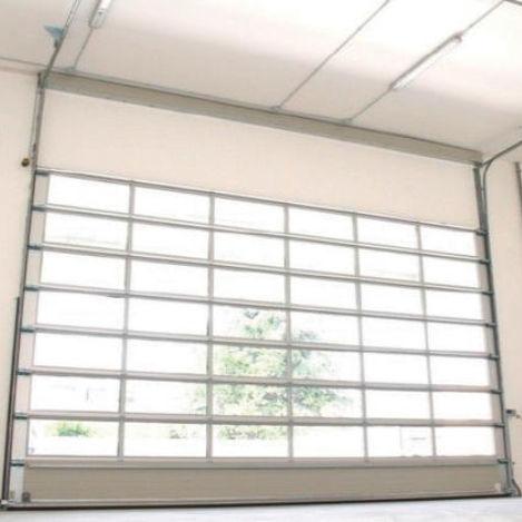 sectional door / metal / industrial / exterior