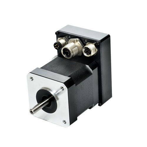 DC motor / brushless / 48V / integrated-drive