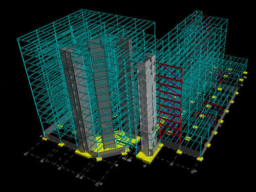 analysis software / design / for building / 3D