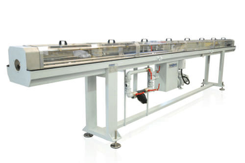 tube cooling bath / for extrusion