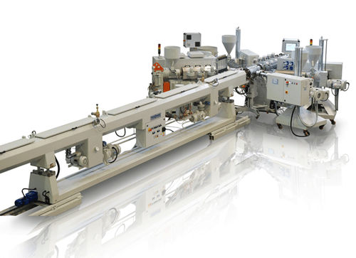 tube extrusion line / for PP / multilayer