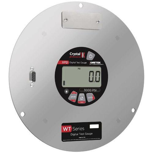 digital pressure gauge / electronic / for gas / for vacuum