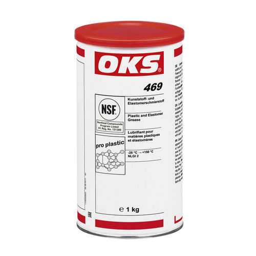 silicone grease / for bearings / for metals / for plastics