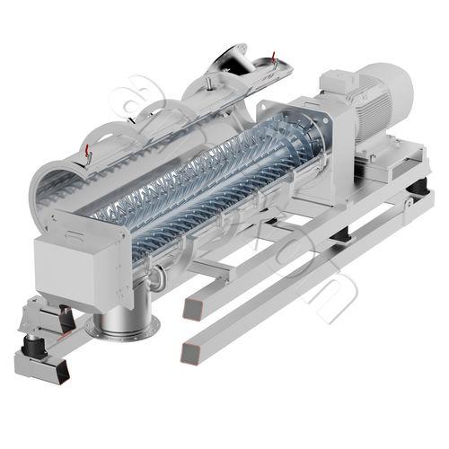 Paddle mixer / continuous / powder / for granulates RMG amixon GmbH