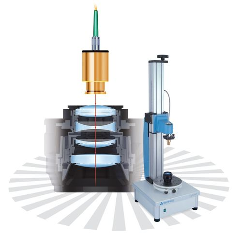 Thickness measuring device / distance / non-contact / optical lens OptiSurf® TRIOPTICS