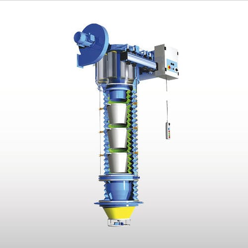 Truck loading spout / semi-tanker / telescopic BELLOJET ZA WAMGROUP S.p.A