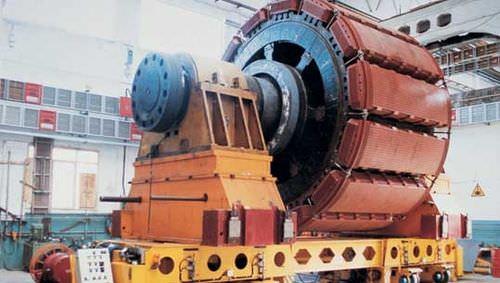 Hydroelectric power plant ANSALDO ENERGIA