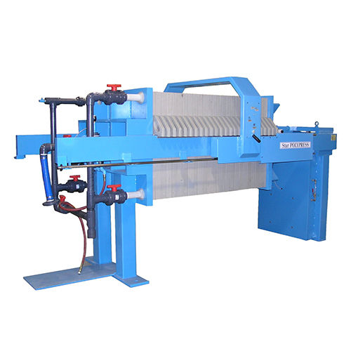 platform filter press / automatic / for wastewater treatment