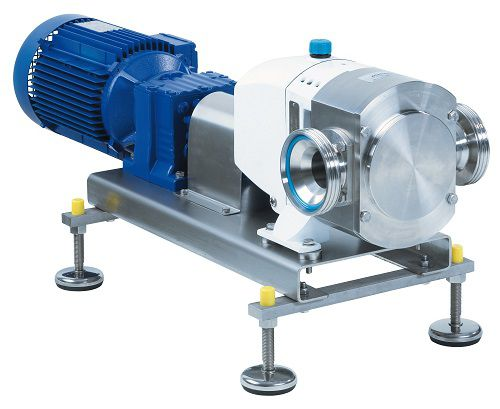 Piston pump / rotary lobe / for beverages / transfer max. 108.54 m³/h, max. 15 bar | VPS series Tuchenhagen