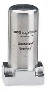 Gas filter / strainer / high-flow / modular Mott