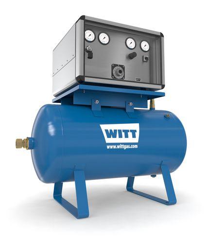 Dynamic mixer / batch / for gas / metering MG50-100_2ME series WITT-Gasetechnik