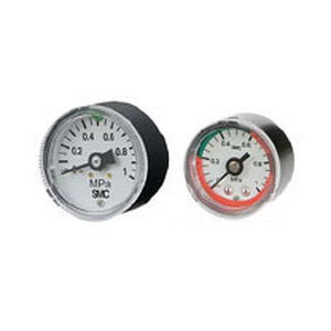 dial pressure gauge / Bourdon tube / for air