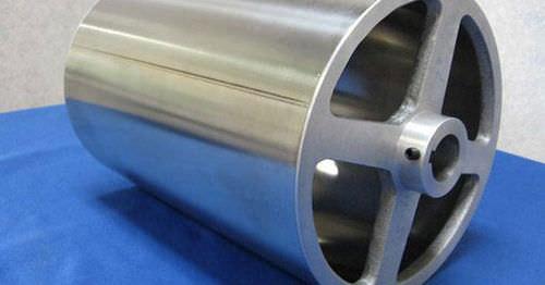 slip-on conveyor roller / flat belt