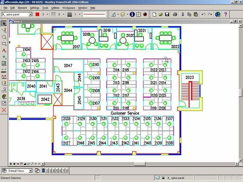 2D-3D CAD software MicroStation PowerDraft Bentley Systems Europe B.V.