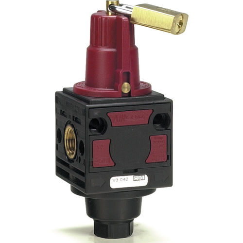 3 way shut-off valve max. 16 bar, 1570 Nl/min Aircomp by Stampotecnica