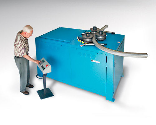electric bending machine / for tubes / automatic / 2-axis