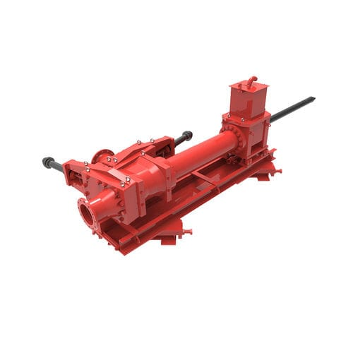 slurry pump / single-piston / industrial / tubular